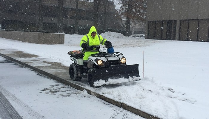 Commercial Snow Removal Andover MA